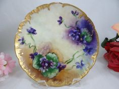 1880s Hand Painted Limoges France Haviland & Cie by SecondWindShop