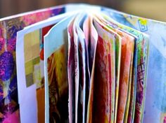 collect things for art journaling. Here are a list of ideas on what to collect and where