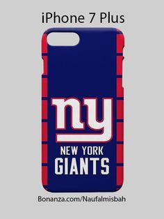 New York Giants iPhone 7 iPhone 7 PLUS Case Cover Wrap Around