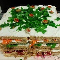 #MaridoTemQueAcharUmaDelicia: Torta de Pão Colorida