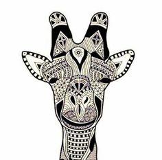 Giraffe: geometrical play