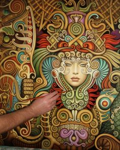 VK is the largest European social network with more than 100 million active users. Russian Art, Russian Culture, Tanjore Painting, Prophetic Art, Aztec Art, Occult Art, Visionary Art, Whimsical Art, Beautiful Paintings