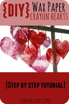 If you're looking for a simple Valentine's craft that you can do with the kids, Crayon Hearts definitely fits the bill. Sure, mom or dad will need to handle the ironing portion of this craft, but that's nothing new, right? What I like most about this activity is that it turns everyday objects – things you probably have lying around