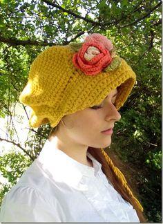 Cozy Things: Regency Crochet Hat