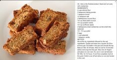 Cranberry, Buttermilk Rusks Experimented on these :) Banting Diet, Banting Recipes, Nut Recipes, Low Carb Recipes, Cooking Recipes, Banting Bread, Recipies, Lchf, Healthy Breakfast Snacks