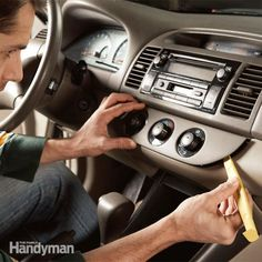 Having problems with your car #stereo? The tricky part is getting it out without wrecking your interior!