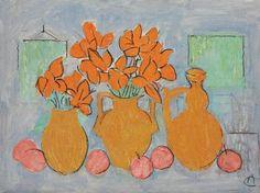 Alexandru Ciucurencu - Natură statică Post Impressionism, Impressionist, Frasier Crane, Art Reference, Art Projects, Drawings, Romania, Inspiration, Paintings