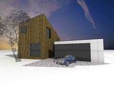 Niečo pre fajnšmekrov bývania - drevostavba, montovaný dom na kľúč.