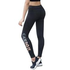 Women 2017 Sports Leggings Fitness Yoga Pants High Waist Elastic Capri Pants Quick Drying Compression Tights