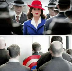Peggy and Cap