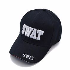 SWAT Baseball Cap-Caps-roxxefy Rugged Style, Casual Chic Style, Classy Style, Men's Leather Jacket, Leather Men, Men's Business Outfits, Men's Shirts And Tops, Men's Coats And Jackets, Gentleman Style