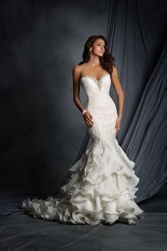 Gown by Alfred Angelo