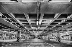 underground car park - underground car park in cultural park,izmir,turkey