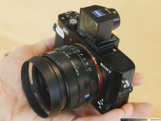 Sony RX1, the first full-frame compact camera