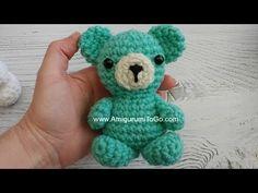 Crochet Teddy Bear Keychain Crochet Mini Bear ~ Amigurumi To Go Crochet Teddy Bear Pattern, Crochet Baby Beanie, Crochet Bear, Cute Crochet, Crochet Hoodie, Crochet Animals, Beautiful Crochet, Easy Crochet Projects, Crochet Patterns Amigurumi