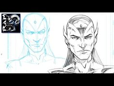 How to Sketch a Character for Comics - Drawing Process in Sketchbook Pro...