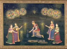 Celebrating Deepawali