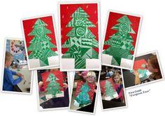 Art with Mrs. Seitz: Evergreen Trees