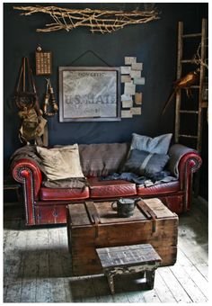 Vintage and rustic
