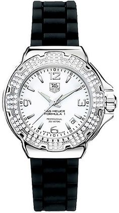 WAC1215.BT0711 TAG HEUER FORMULA 1 WOMENS QUARTZ WATCH IN STOCK - Click to View Mother's Day Luxury Watch Sales Event    Store Display Model  (What's This