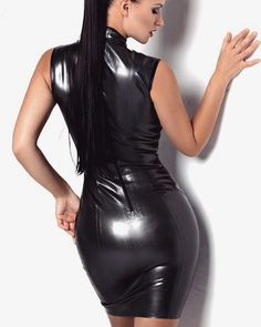 Beautiful and sexy women. in beautiful and sexy clothes and poses Leather Mini Skirts, Leather Dresses, Leather Pants, Black Leather, Vynil, Leder Outfits, Black Ripped Jeans, Female Supremacy, Latex Dress