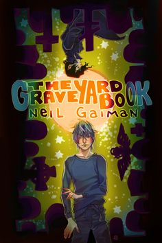 The Graveyard Book Fan Art Neil Gaiman's THE GRAVEYARD BOOK doesn't need a Newbery Medal to show us how good it is (but it doesn't hurt). If your kid hasn't read this book yet, we're sure the. The Graveyard Book, Newbery Medal, Brave, Nerd, Fan Art, Reading, Cover, Books, Movie Posters