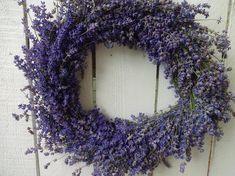 Purple Wreath, Lavender Wreath, Lavender Garden, Indoor Wreath, Twig Wreath, 4th Of July Decorations, Shabby Chic Homes, Summer Wreath, Dried Flowers