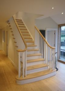 Best Curved Stairs Wooden Curved Staircase Manufacturers 400 x 300