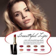 Beautiful lips start with beautiful ingredients ... ... Sheabutter, Orangen & Jojoba Öl pflegen die Lippen, mineralische Farbstoffe machen einen schönen natürlichen Look! Your Lips, Get The Look, Orange Color, Minerals, Peach, Glamour, Colours, Beautiful, Red