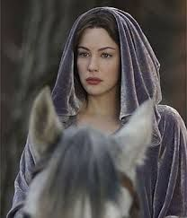 Arwen. She used to be my favorite character until I watched the movie and saw that all she did was kiss Aragorn. I'm glad that they included her in an action scene though.