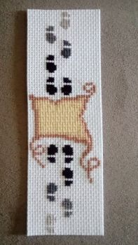 Image result for cross stitch bookmarks always harry potter