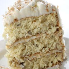 Italian Cream Cake... my favorite!