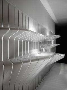 Kitchen display area_corian