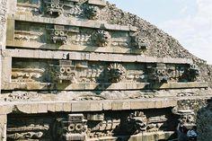 Pirámide de la Serpiente Emplumada l Estado de México , México