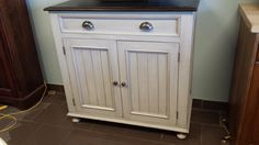 Buffet / Kitchen Side Board / Kitchen by HarvestTreasuresInc Side Board, How To Distress Wood, Wood Cabinets, Kitchen Storage, Armoire, Buffet, Bathroom, Furniture, Home Decor