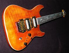 Gav's IB-1 finished in Hot Auburn Wudtone Custom Guitar Finish