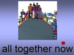All Together Now The Beatles Kids Fun Songs Music TV Shows Dance Kidz Videos Magical Mystery Tour