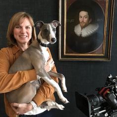 Introducing Gallery Dog Cedric to Fake or Fortune? We felt the team needed a canine element. Fiona Bruce, Antiques Roadshow, Famous Art, Tv Presenters, Bbc News, Art History, Felt, This Or That Questions, Gallery