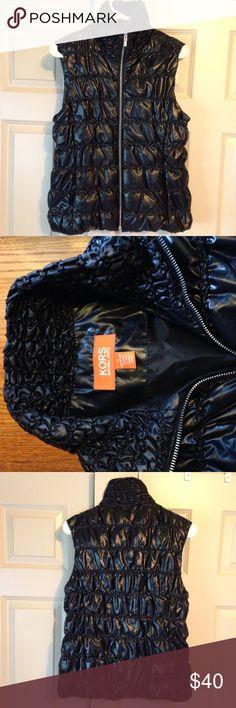 Michael Kors Down Vest Michael Kors black down vest. Excellent condition. Michael Kors Jackets & Coats Vests