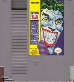 Batman - Return Of The Joker Nintendo Nes - sehr gut günstig kaufen Nes Games, Nintendo Games, Nintendo Entertainment System, Return Of The Joker, Retro Game, Batman Returns, Original Nintendo, Entertaining, Games