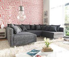 DELIFE Wohnlandschaft Clovis in verschiedenen Farben, mit Hocker & Armlehne | Sofa, modular, Design Wohnlandschaften, Couch Loft, Modulsofa, modular