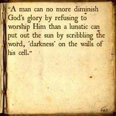 #56 - God's Glory | Top 100 C.S. Lewis quotes | Deseret News