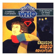 Doctor Who: Demon Quest 2: The Demon of Paris CD Audiobook Brand New  Tom Baker