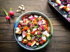 PIPER NIGRUM: Lentil Salad with Roasted Root Vegatables