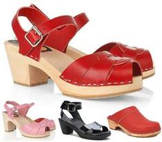 Need some red swedish clogs