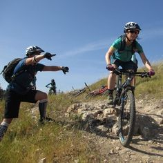 Technical climbs, tough obstacles, switchbacks—multitasking on a mountain bike builds up more than just riding skills.