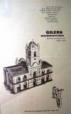 Gilera Argentina 1960