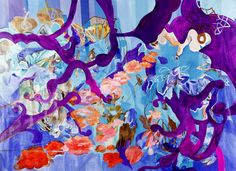 "Saatchi Online Artist Irina Rosenfeldt; Painting, ""NAP AT A SHADE OF A TRAUMA"" #art"