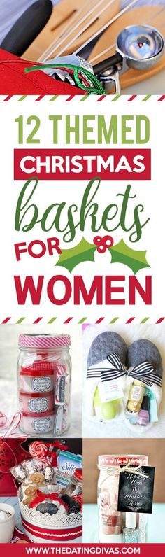 Christmas Gift Basket Ideas for Everyone - The Dating Divas Christmas Gift Baske. Christmas Gift Basket Ideas for Everyone – The Dating Divas Christmas Gift Baskets for Women Gift Baskets For Women, Diy Gift Baskets, Christmas Gift Baskets, Homemade Christmas Gifts, Christmas Gifts For Women, Homemade Gifts, Christmas Presents, Holiday Fun, Christmas Crafts