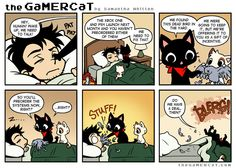 Check out the comic the GaMERCaT :: Offerings